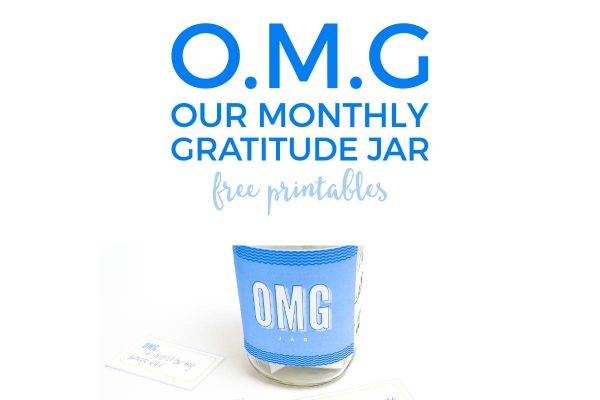 Implement this simple and fun gratitude jar in your family to practice gratitude daily and raise happy kids!