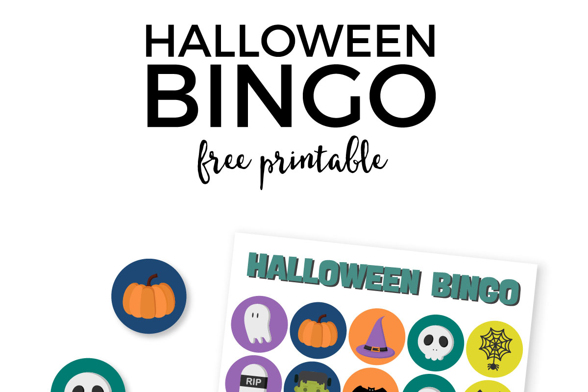 Wrangle up the Halloween candy and play this spooky, but kid friendly Halloween bingo. Bonus it's a free printable set!