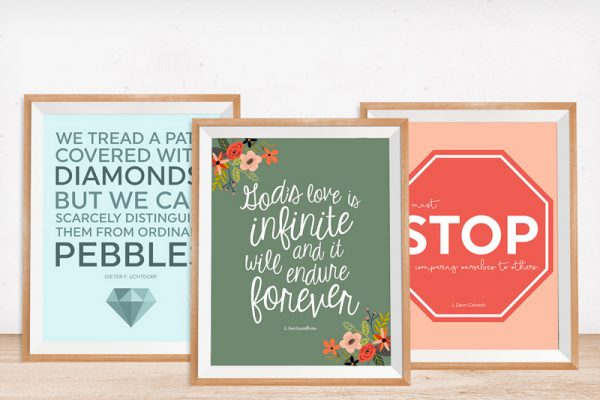 Download these LDS printables from the October 2016 General Conference.