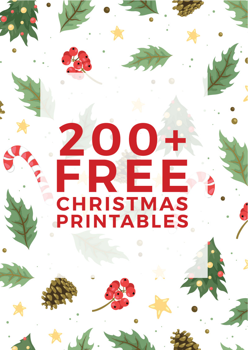It's just a picture of Gargantuan Free Christmas Printable