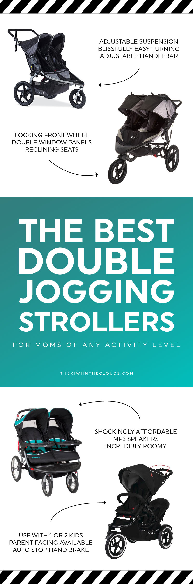 Find The Best Double Jogging Stroller For Moms Of Any