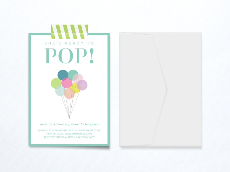 ready to pop baby shower printable free printables baby shower