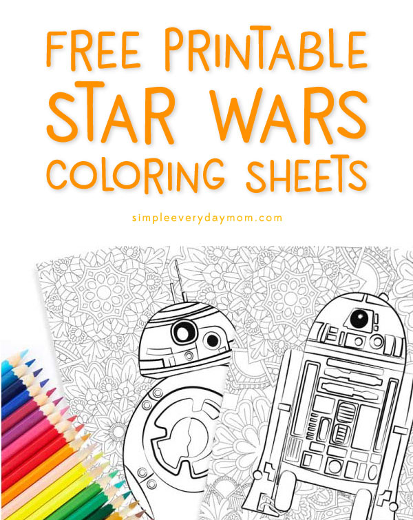 graphic about Star Wars Printable Coloring Pages called Free of charge Star Wars Printable Coloring Webpages: BB-8 C2-B5