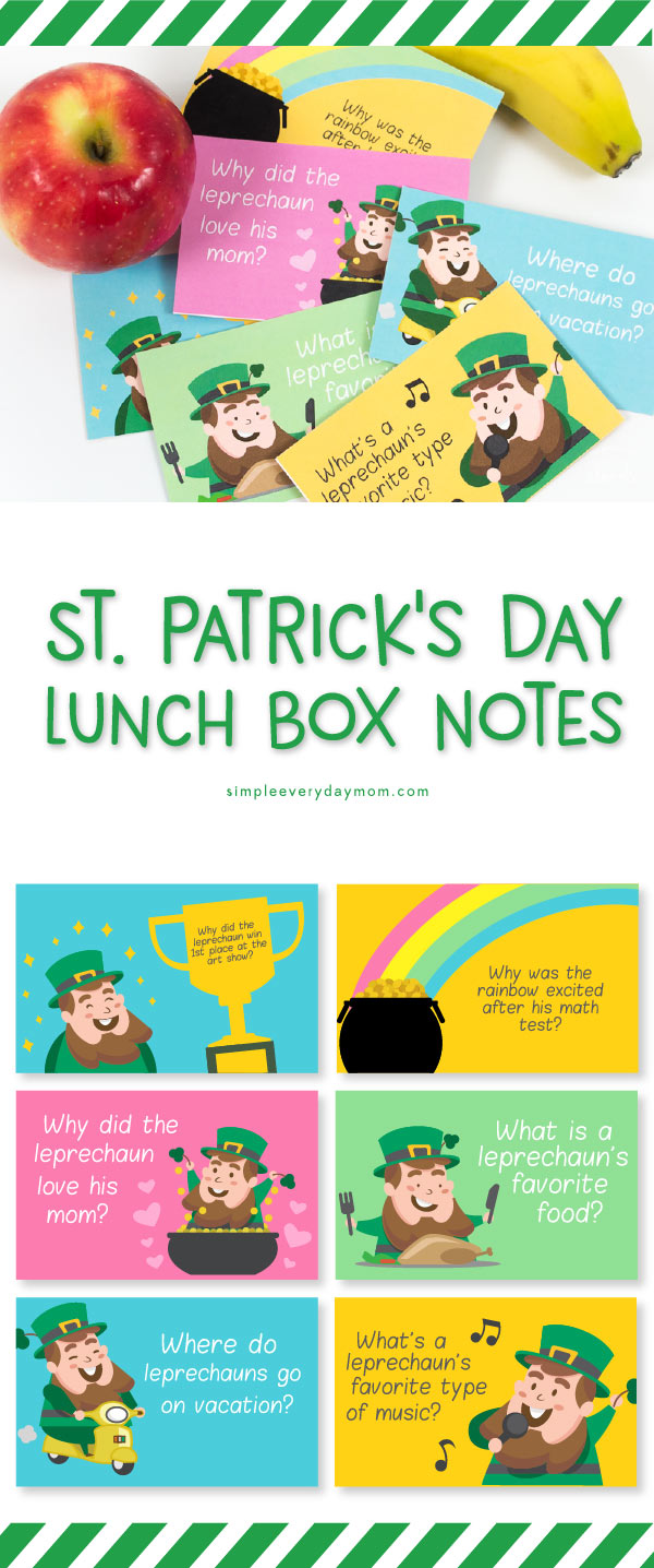St. Patricks day notes