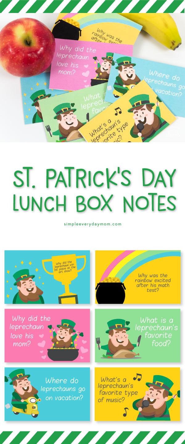 St. Patricks day notes