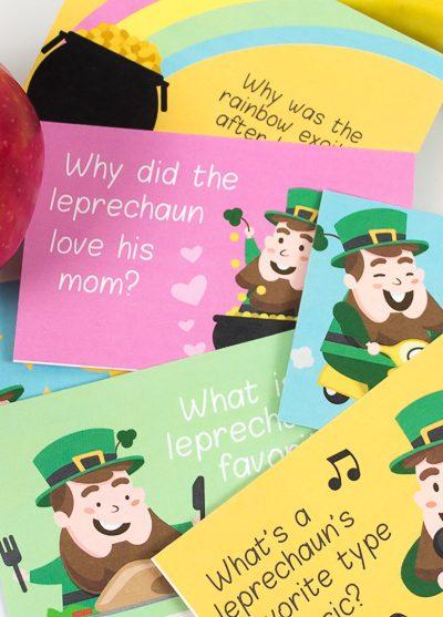 leprechaun printable   lunch notes