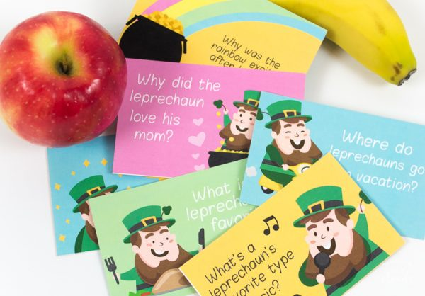 leprechaun printable | lunch notes