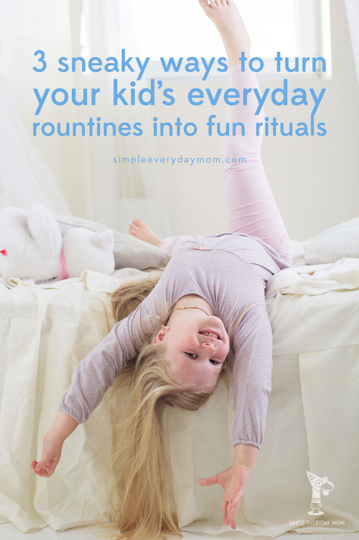 Learn how to change your daily routines into fun ways to spend quality time with kids