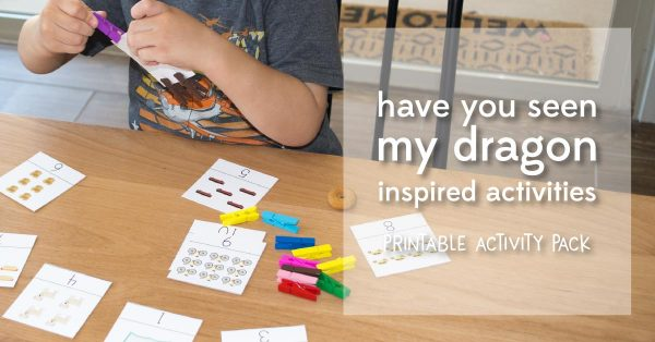 have you seen my dragon activities | book activities