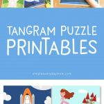 tangram printables | math activities preschool