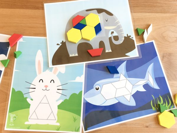 11 tangram printables that'll make your kids excited about
