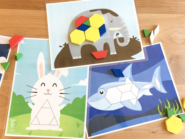 tangram activities | preschool math activities | tangram printables