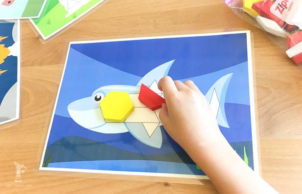 tangram patterns | printables for kids