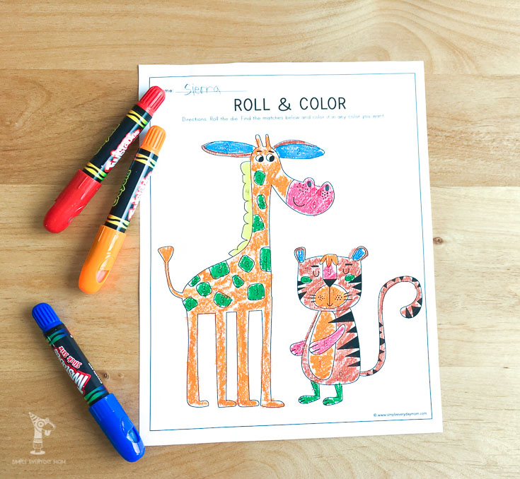 I love these printables for kids that go along with the book, giraffes cant dance! This coloring page for kids is too cute!