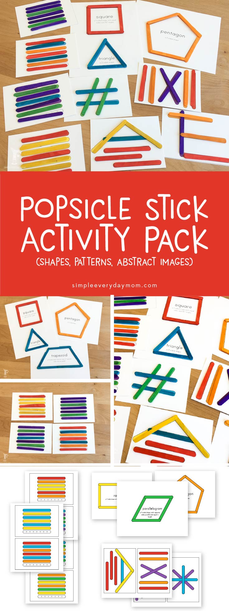 photo about Popsicle Printable named Uncomplicated Prep Popsicle Adhere Initiatives For More youthful Small children