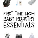baby registry must haves 2018