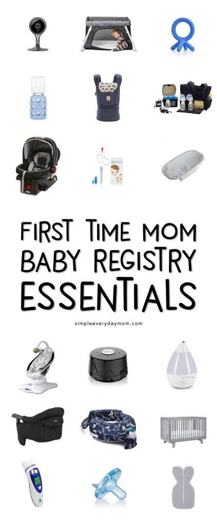 baby registry must haves 2018
