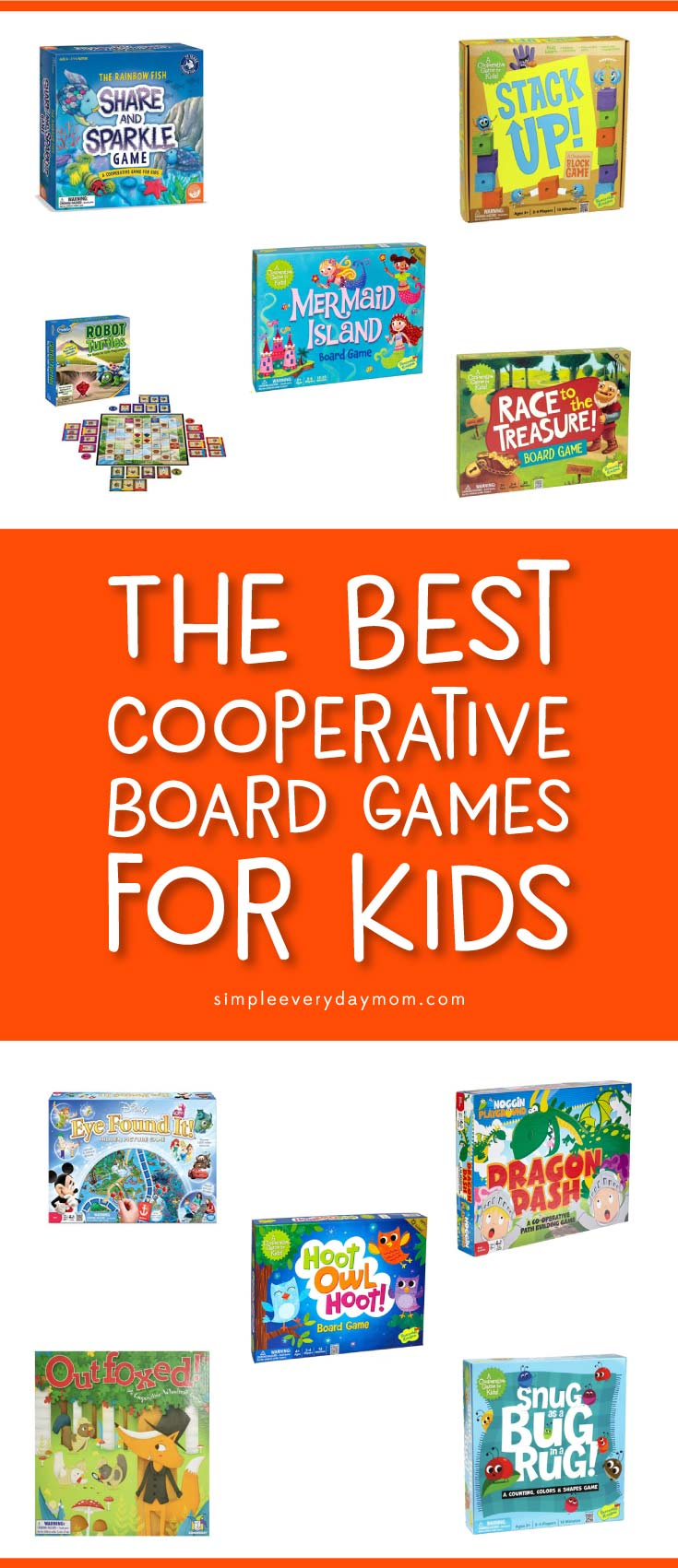 cooperative board games | best board games for kids | toddler | preschool