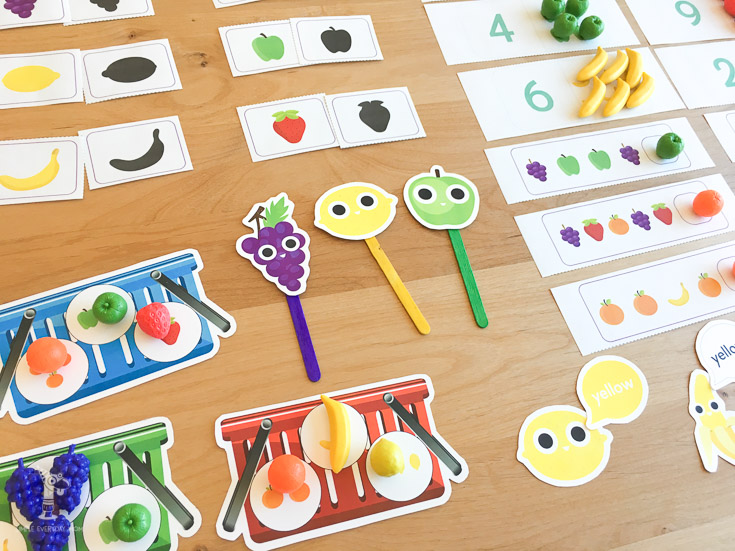 printable activities | fruit | teaching preschool