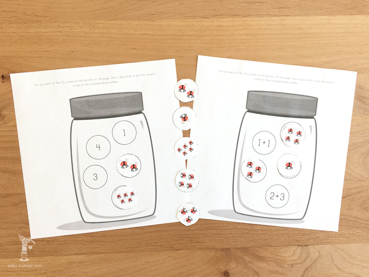 Teach your kids about counting and numbers with this fun printable fly activity.