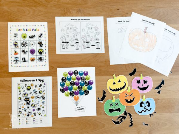 Your kids will love these halloween activities!