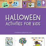 printable halloween activities for kids | halloween lunch notes | halloween games