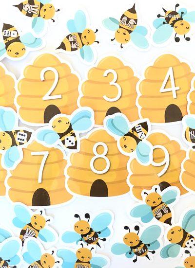 Teach Numbers   Preschool   Kindergarten printable activities for kids