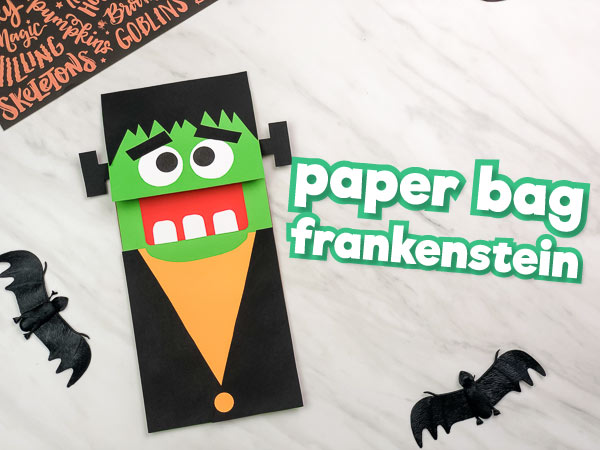 Make This Cute Frankenstein Craft For Kids This Halloween