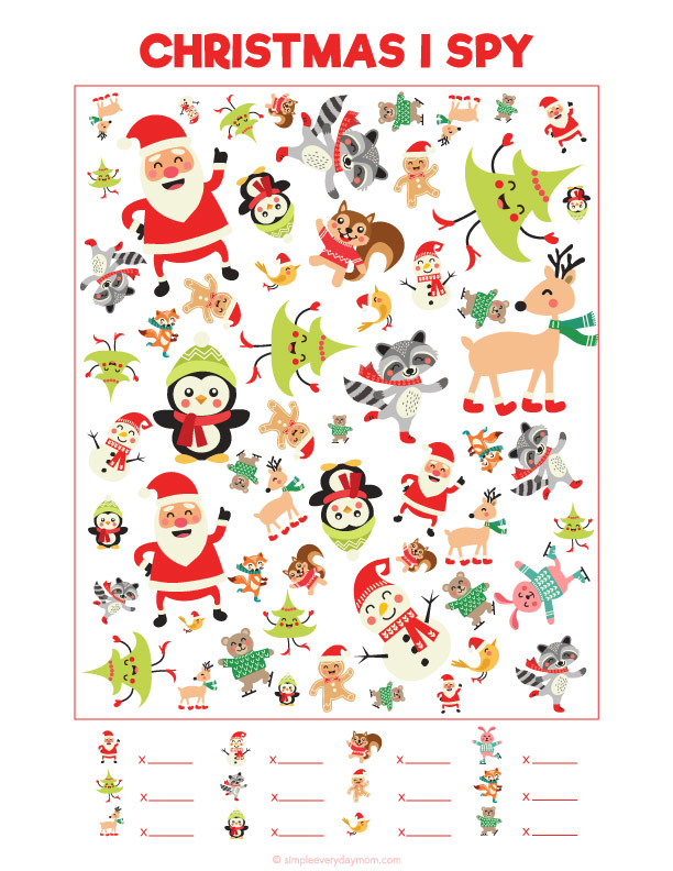 picture regarding Printable Christmas Activities named 12 Xmas Functions For Small children Youll Need Towards Do Each individual Yr