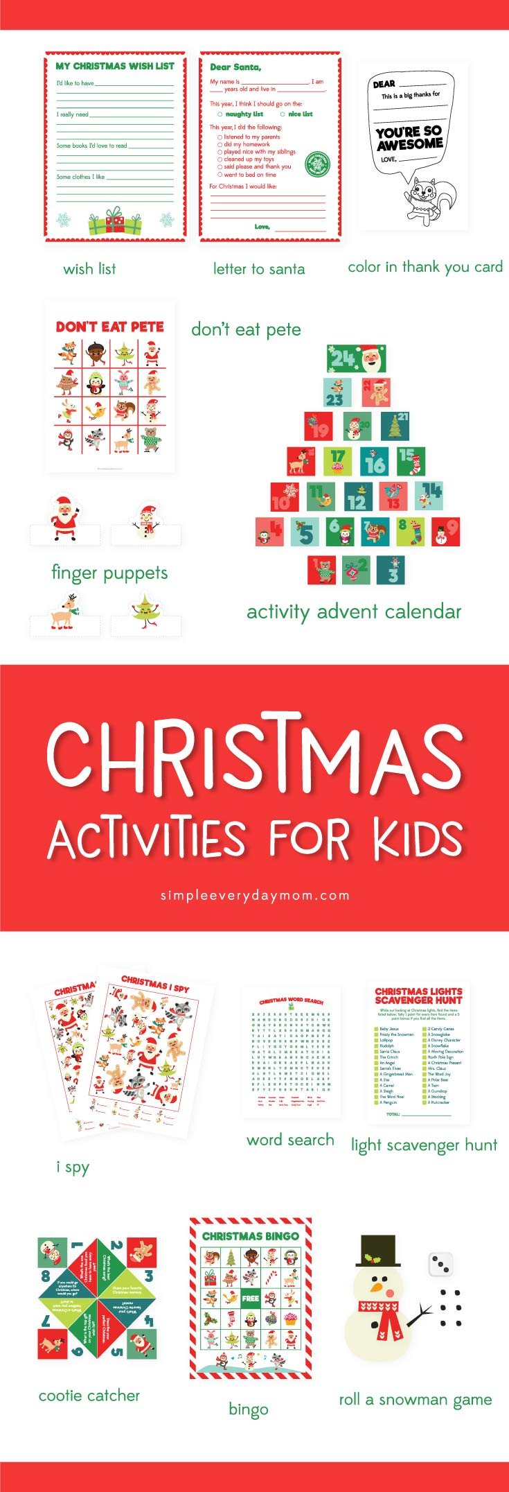 Printable Christmas Wish List For Kids.12 Christmas Activities For Kids You Ll Want To Do Every Year
