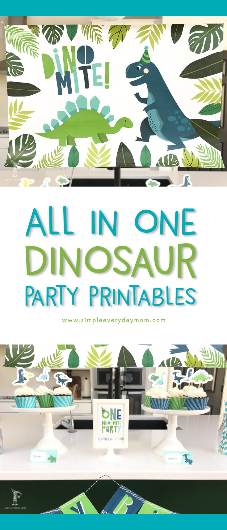 A No Fuss Dinosaur Birthday Party