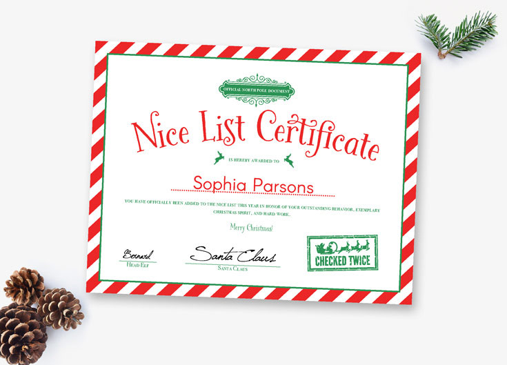 use these editable letters from santa for a magical christmas - Christmas Letters From Santa