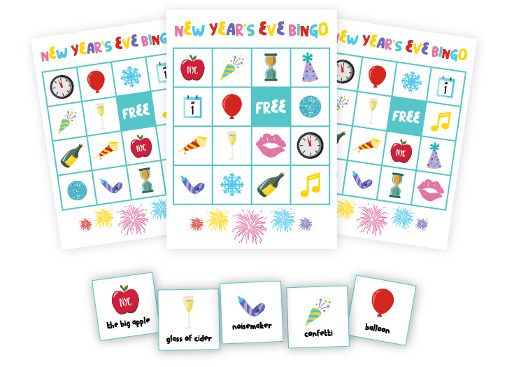 new years eve bingo for kids