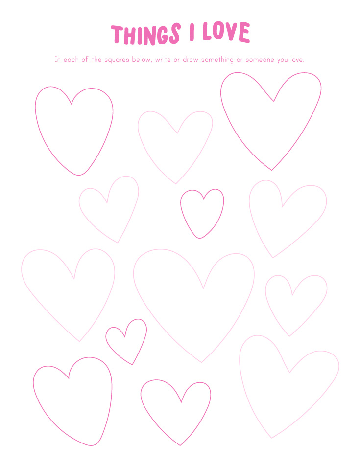 Valentine Printables For Kids | Classroom Worksheet | Writing Activity # Valentine #kidsprintables