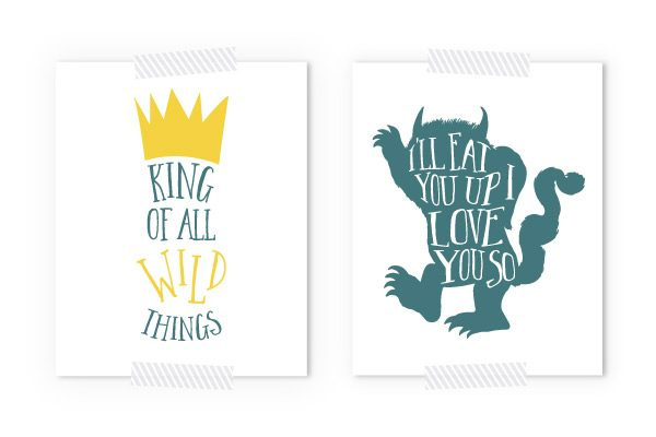 Free Where The Wild Things Are Printables
