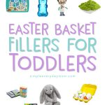 Easter Basket Ideas For Toddlers | Create a fun, DIY Easter basket for your little one this year with this guide that is filled with non-junky, educational, fun and interactive items. #easterbasket #easter #easter2018 #easterforkids #toddler #kids #giftidea
