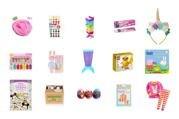 Easter basket fillers for girls