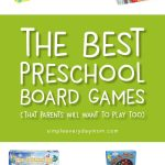 Best Preschool Board Games
