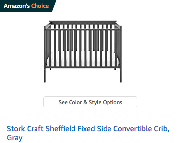 Stork Craft Sheffield Crib