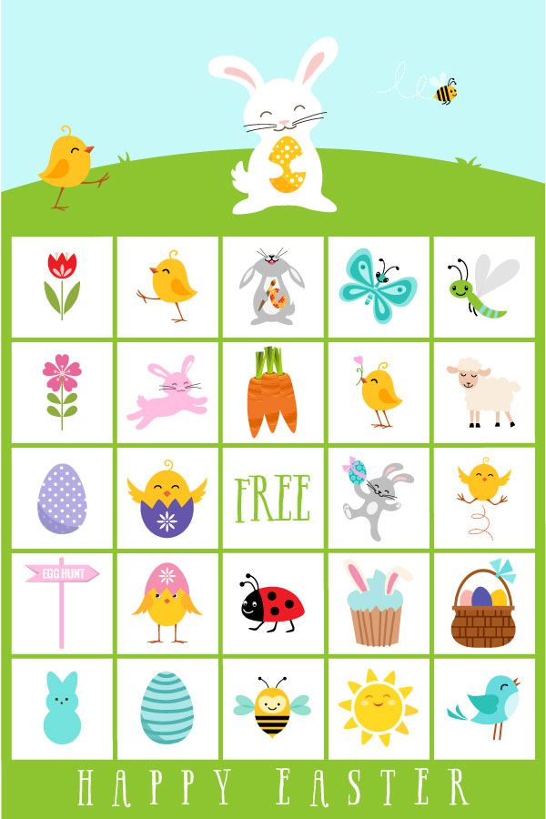 picture regarding Spring Bingo Game Printable identify 10 Tremendous Exciting Easter Functions For Little ones Theyll Beg In the direction of Do