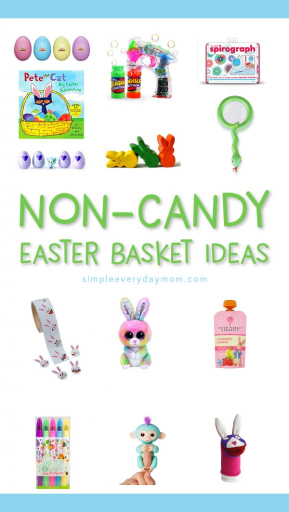 Non-Candy Easter Basket Ideas For Kids | tired of the constant barrage of candy that surrounds Easter? Kick sugar to the curb and discover these non-candy Easter basket ideas for kids they'll be wild about.
