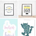 Nursery Wall Art | Free Printable Nursery Art