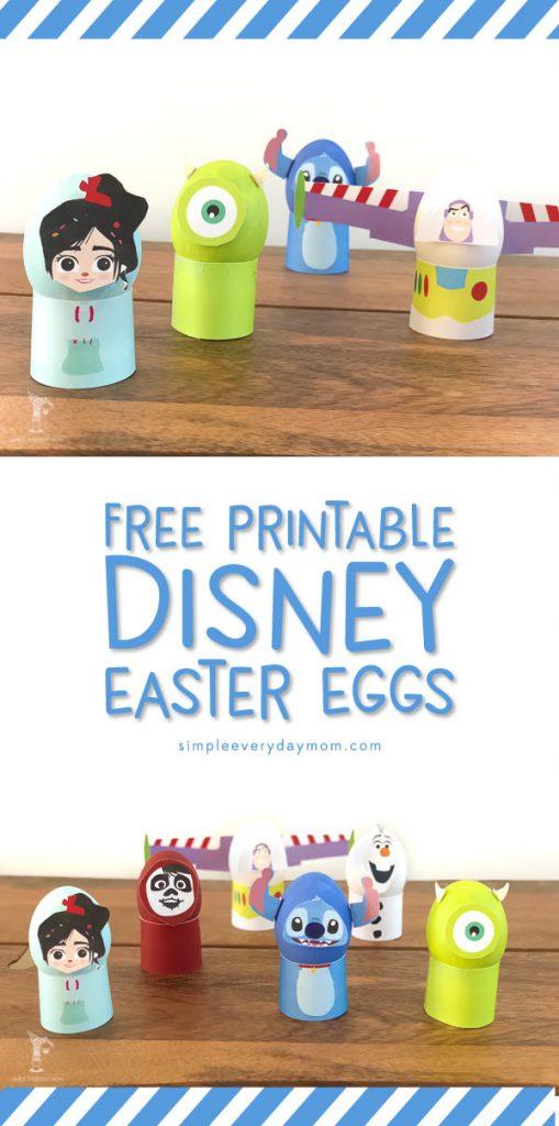 Disney Easter Egg Decorating Ideas