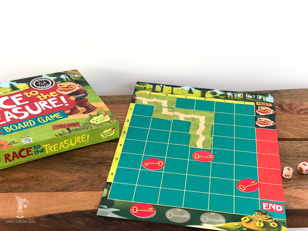 best board games for kids: Race To the Treasure Game