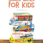 Best Board Games For Kids: Stacked Board Games