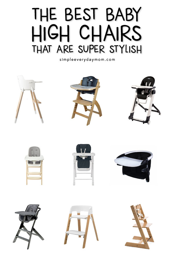 Super The 9 Best Baby High Chairs From Amazon That Are Stylish Andrewgaddart Wooden Chair Designs For Living Room Andrewgaddartcom