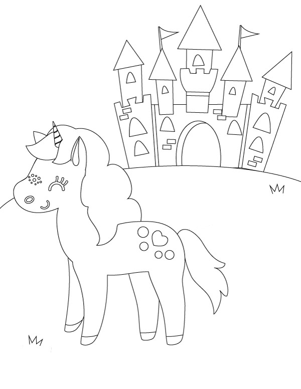 5 Printable Unicorn Coloring Pages Every Little Girl Wants