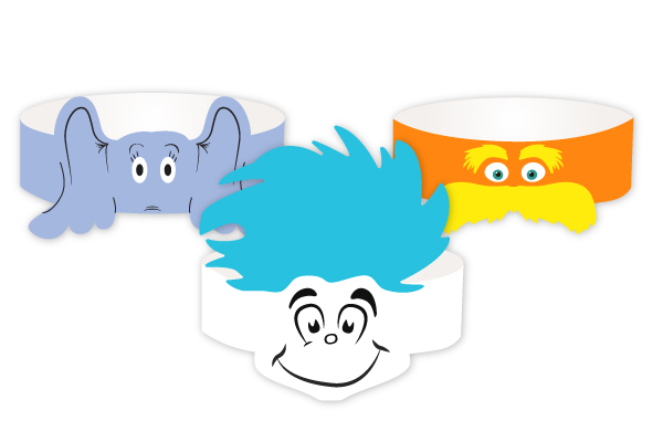 picture regarding Dr Seuss Printable Hat called 3 Absolutely free Printable Dr Seuss Hats In the direction of Rejoice Go through Throughout