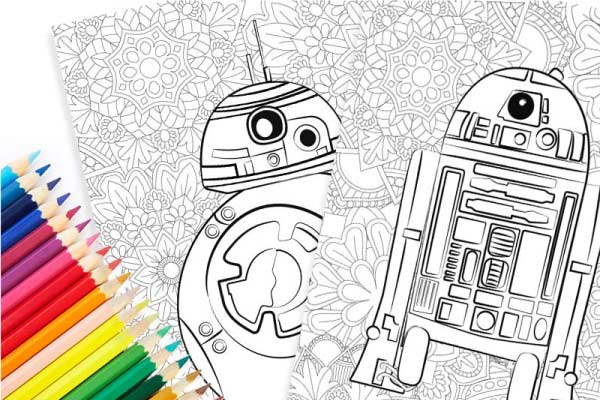 Free Star Wars Printables: Coloring Page