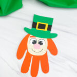handprint leprechaun craft